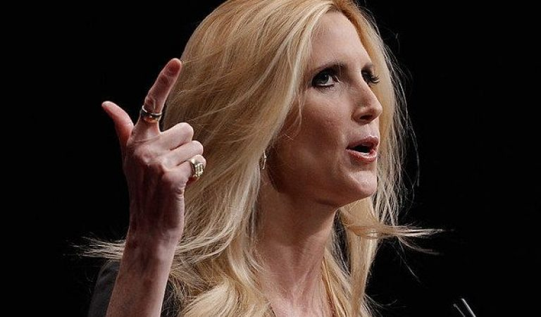 """Ann Coulter Is Very Angry With """"Suck-a**"""" Delta"""