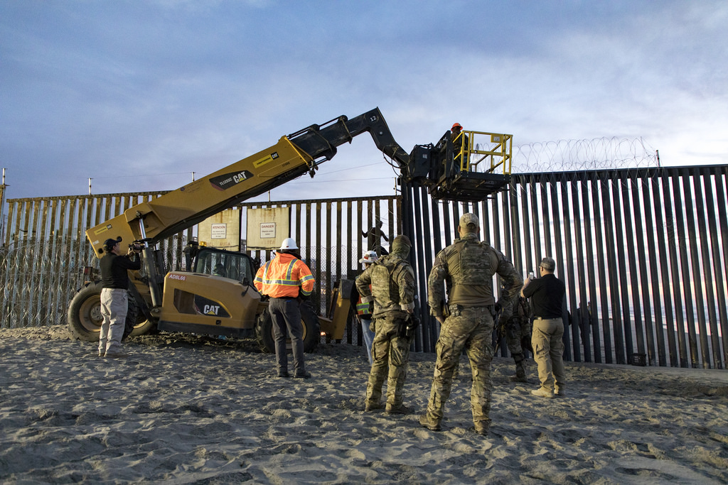 Pentagon Finds $12.8 Billion for Wall – Nearly 4x What Trump Requested